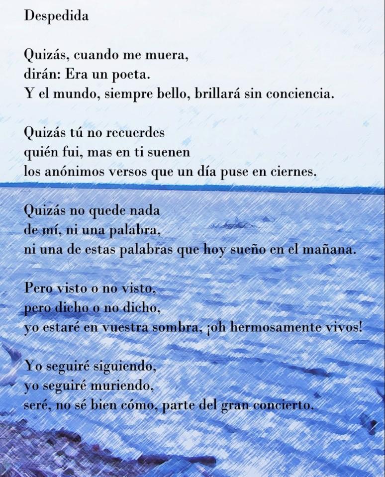 Poemas De Despedida